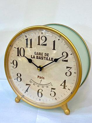 שעון שולחן עגול  שעון מחוגים שעון וינטג' שעונים אונליין