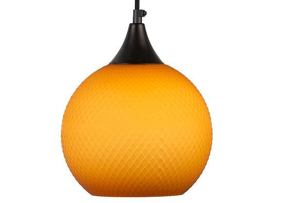 מנורות תלייה לרכישה אונליין מנורת תליה עגולה כתומה