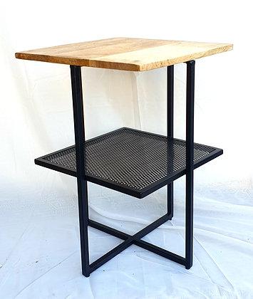שולחן צד עץ מנגו