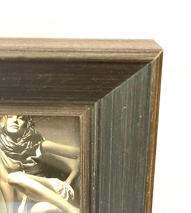 מסגרת תמונה מרובעת חומה ריהוט הבית אונליין