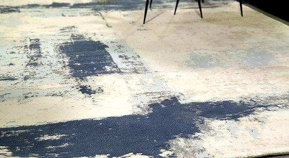 שטיח פסיפיק שטיחים מעוצבים לסלון שטיחים לחדר שינה שטיחים כחול כהה
