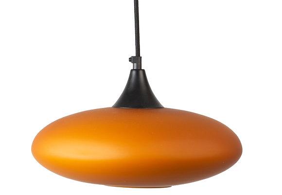 מנורות תלייה לרכישה אונלין מנורת תלייה זכוכית כתומה