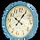 """שעונים מעוצבים שעון קלאסי לרכישה אונליין שעון 50 ס""""מ שעון תכלת"""