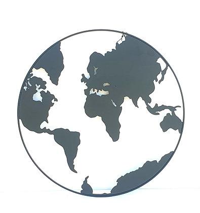 דקורציה ריהוט הבית אונליין תליה על קיר מתכת קישוט של כשור הארץ אונליין