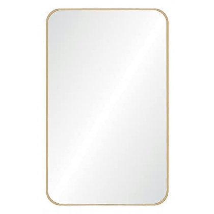 מראה מרובעת מראה עם מסגרת עדינה מראה שורה מראה זהב מראה לרכישה אונליין ריהוט הבית אונליין נושא כלים
