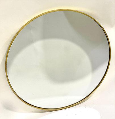 מראה עגולה זהב מראה עדינה מראה לאמבטיה מראה לחדר שינה מראה לכניסה לבית