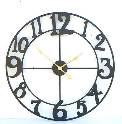 שעון מתכת מחוגים זהב לרכישה אונליין