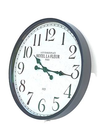 """שעונים מעוצבים שעונים חלקים שעון שחור 50 ס""""מ לרכישה אונליין שעונים בינוניים"""