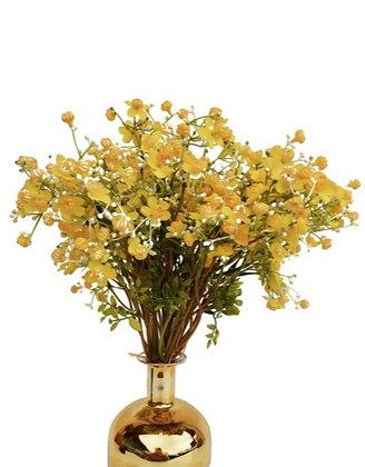 זרי פרחים צהובים זרי פרחים מלאכותיים לרכישה אונליין זר פרחים צהוב מלאוכתי אקססוריז לבית לרכישה אונליין