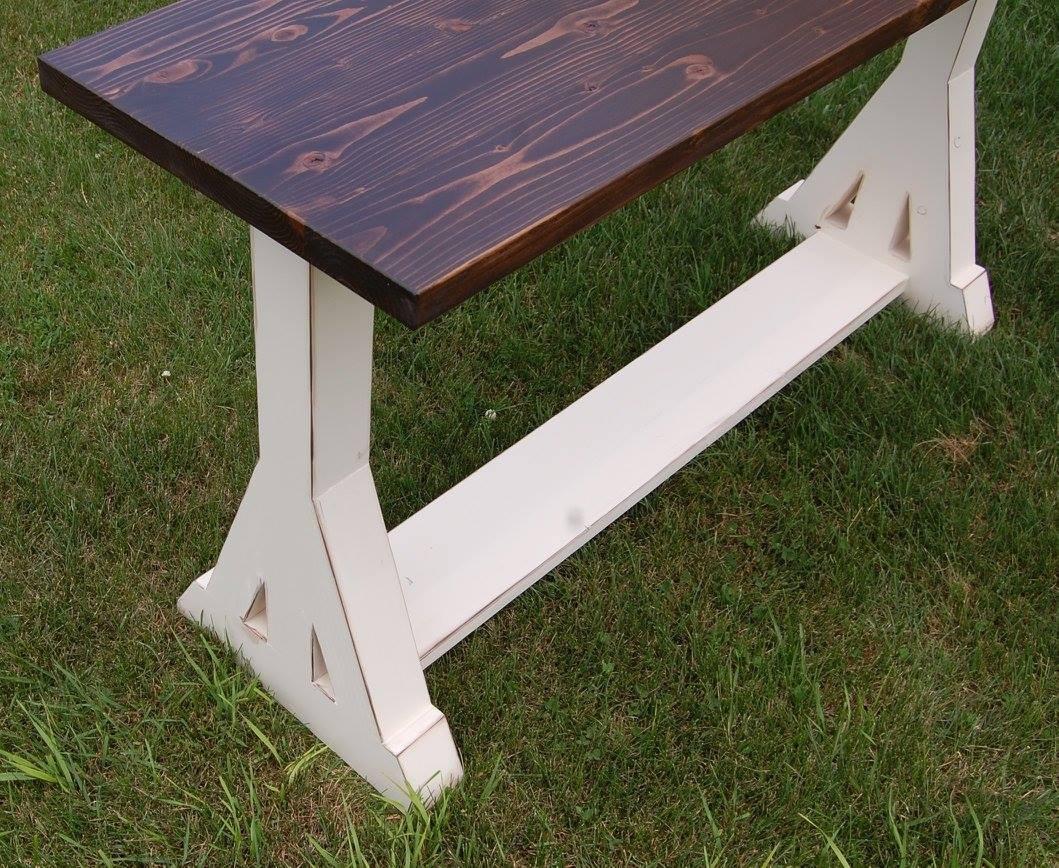 Trestle Leg Table