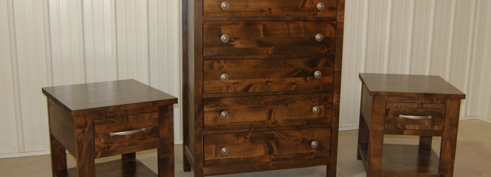 Five Drawer Tall Dresser