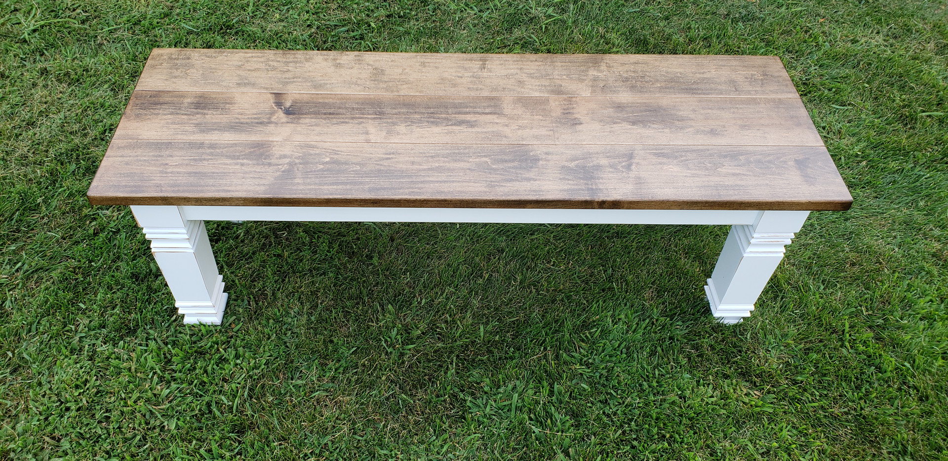 Farmhouse bench top
