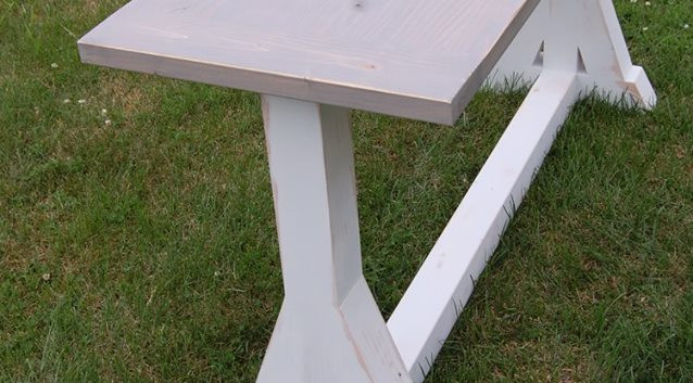 Trestle Leg Table