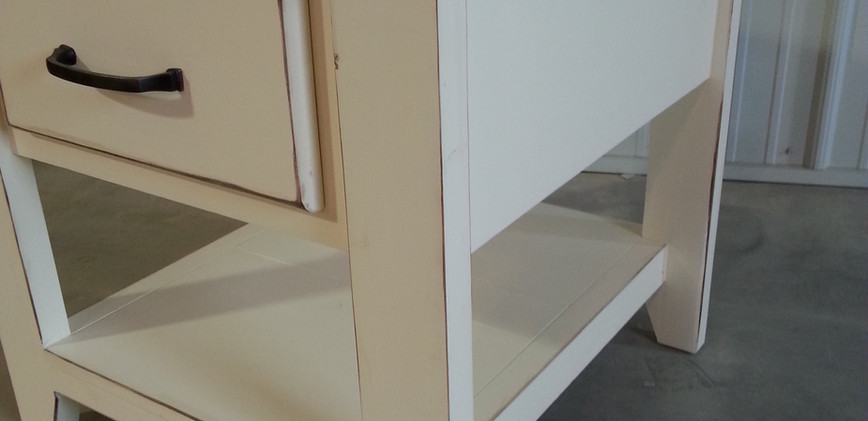 Faux Drawer Side Table