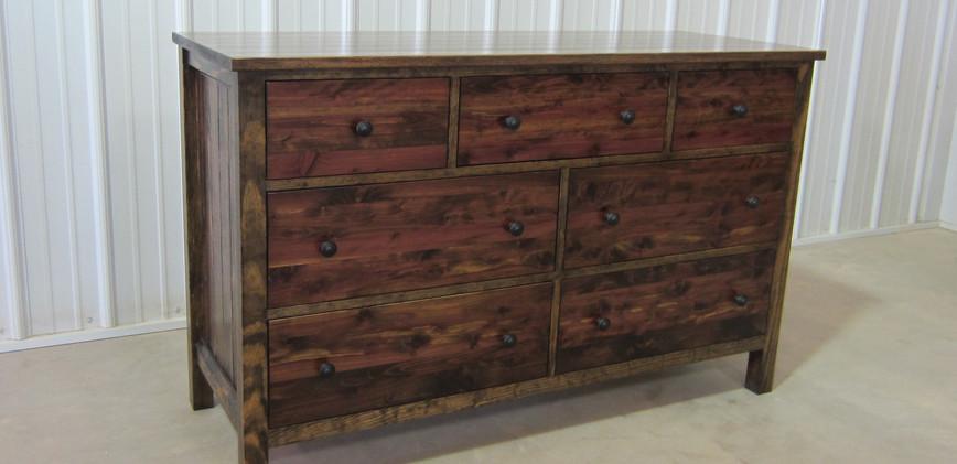 Seven Drawer Farmhouse Dresser