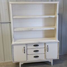 Mid Century Hutch AFTER