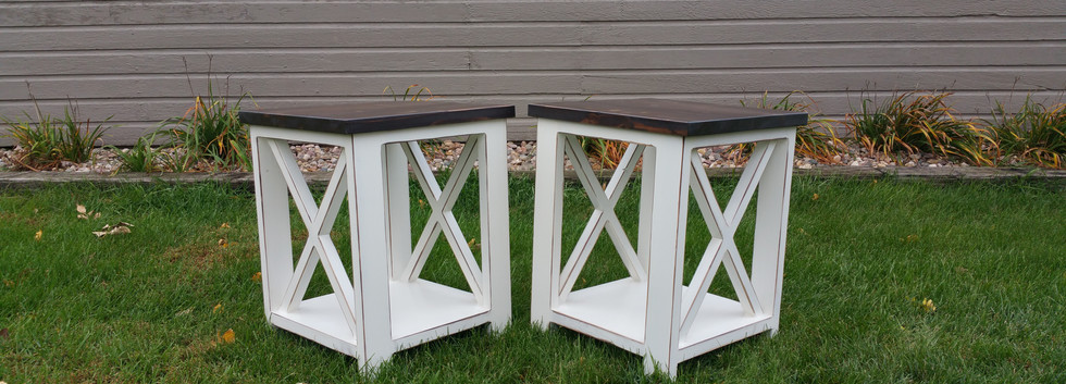 X-Accent Side Table