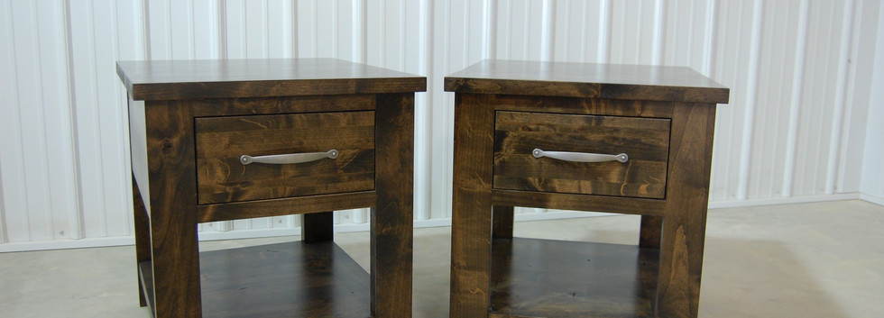 Single Drawer Farmhouse Table