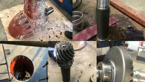 Overhauling 2 Schottel STT 170 TLK Bow Thrusters