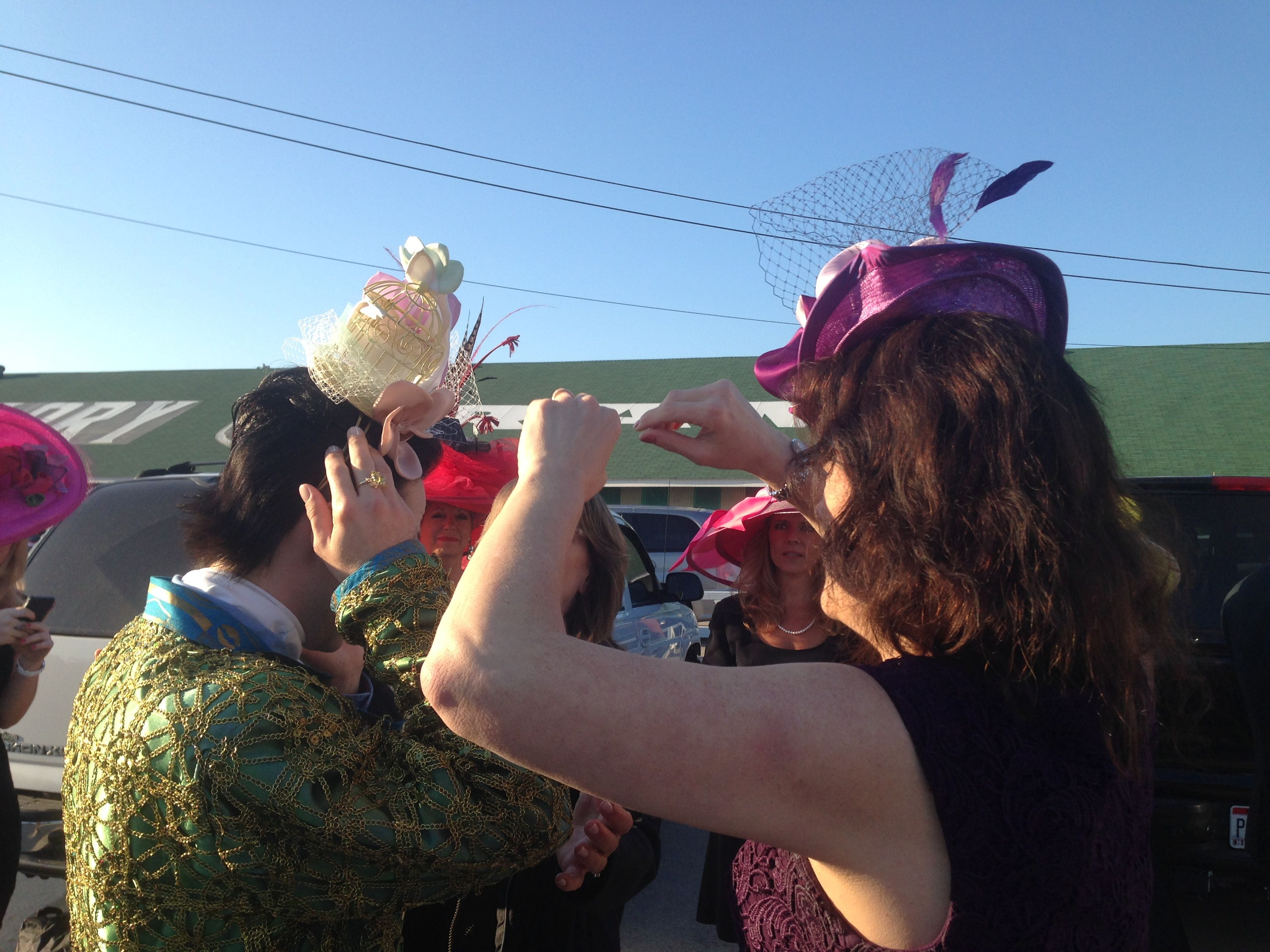 Kentucky Derby-Johnny Weir 2014
