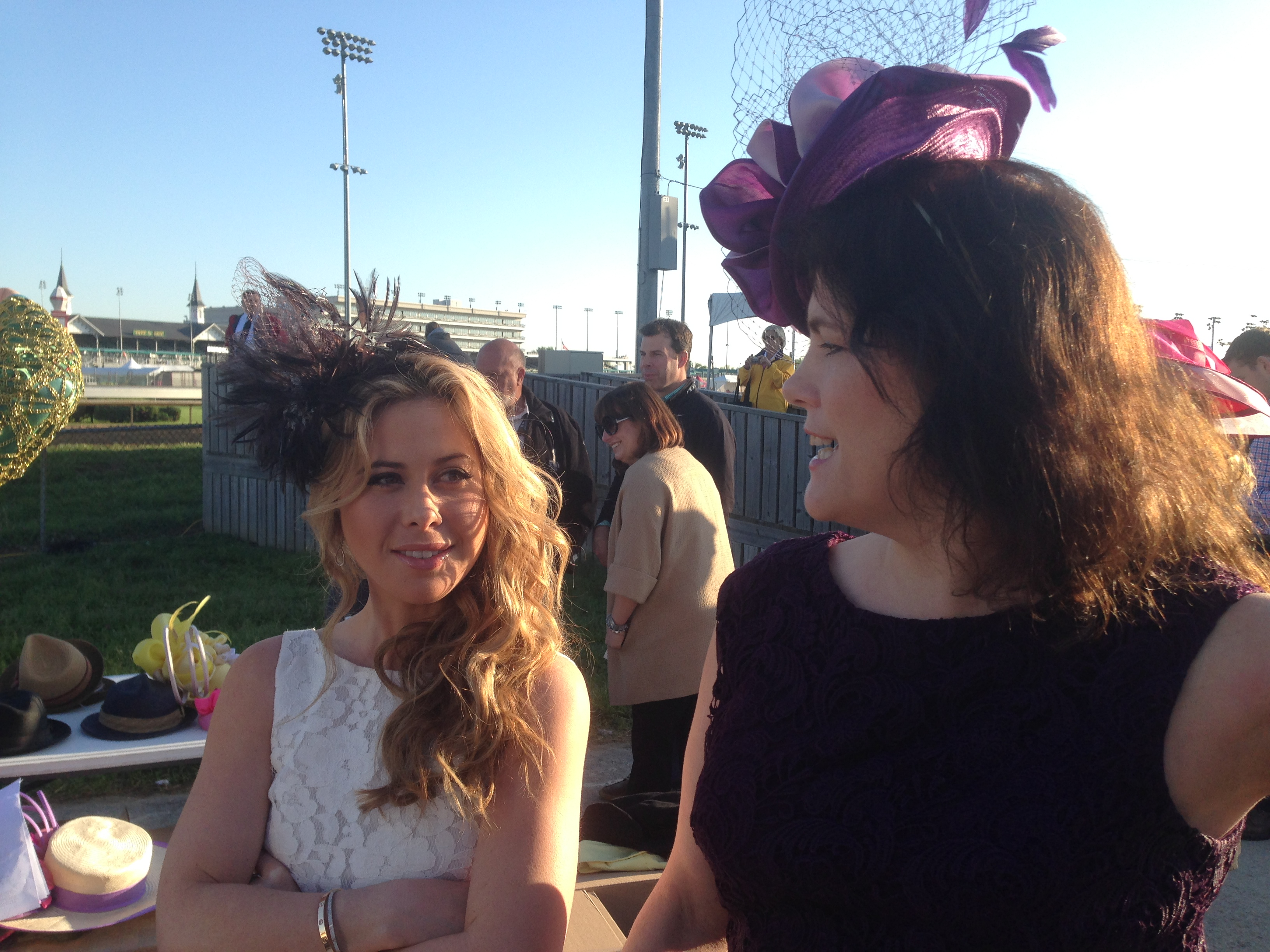 Kentucky Derby- Tara Lipinski-2014