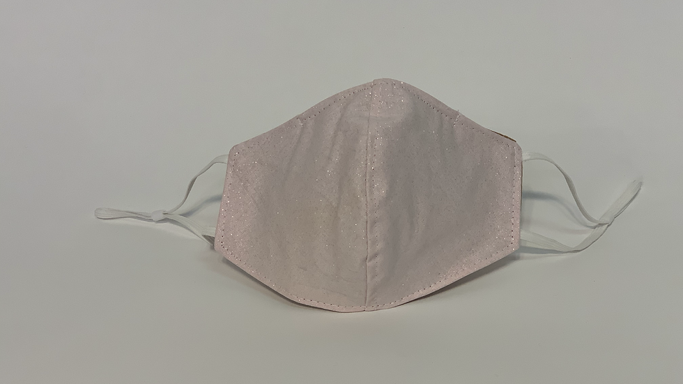 Cotton Glitter Face Mask