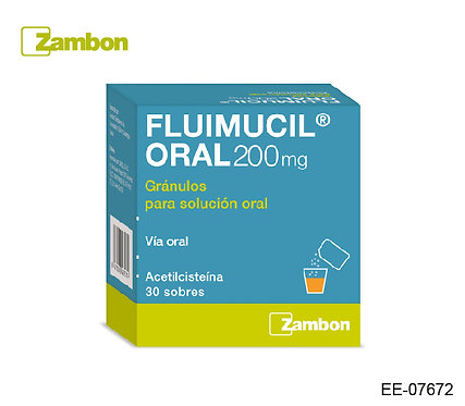 Fluimucil Oral 200mg
