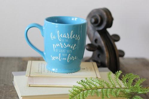 Blue 'Soul Fire' Mug
