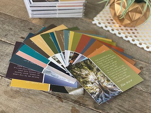 Abide   Visual Psalms Card Set
