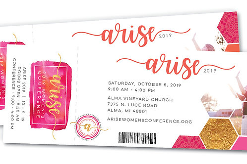 Arise Conference Ticket 2019