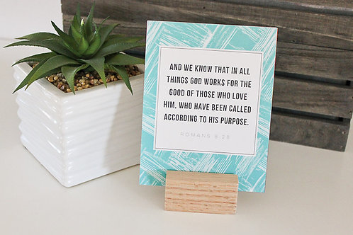 Dwell | Scripture Card Set