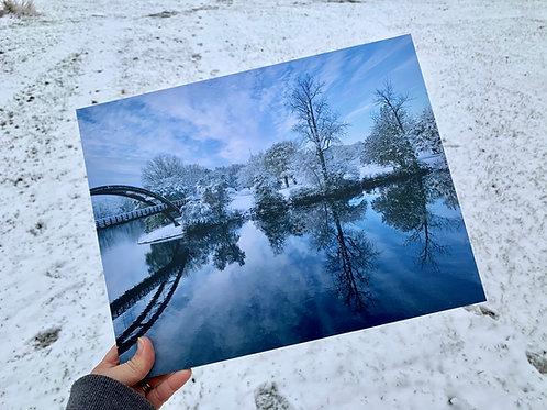 The Winter Tridge | 11 x 14 Mounted Prints