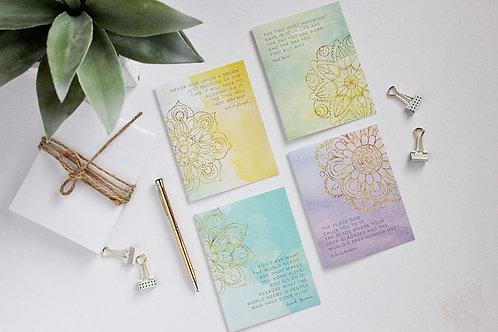 Greeting Card Set | Mandala