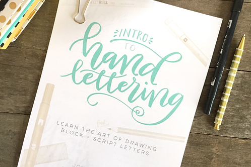 Intro to Hand Lettering | PDF