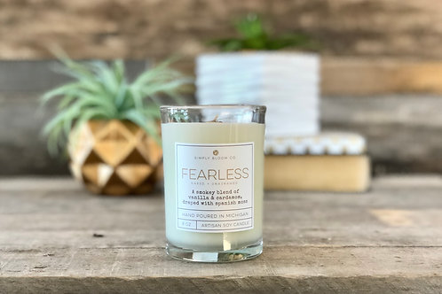 Artisan Soy Wax Candle | Fearless
