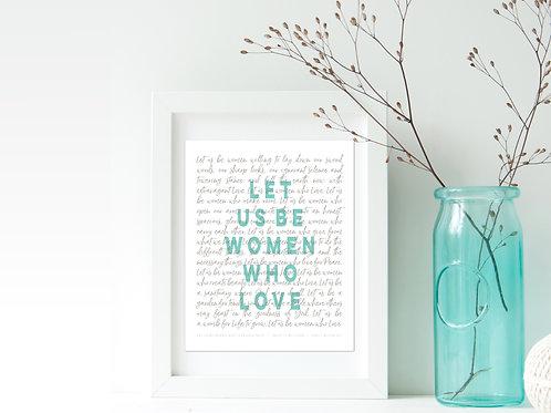 Wise Words | 8 x 10 Prints