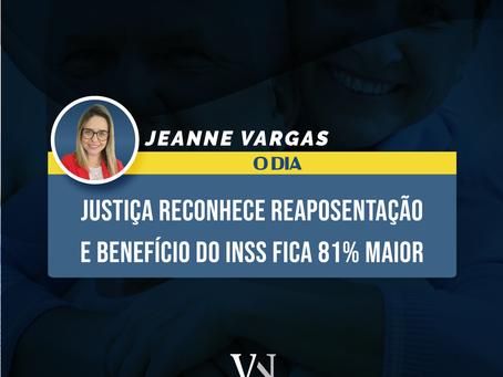 Justiça reconhece reaposentação e benefício do INSS ficará 81% maior