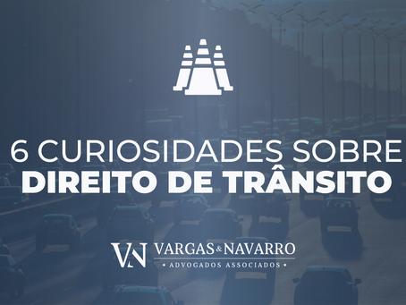 6 Curiosidade Sobre Direito de Trânsito