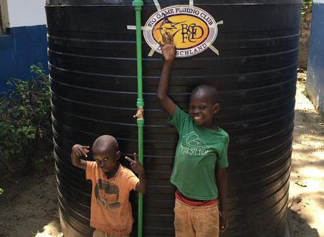 Spende für das Waisenhaus