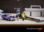 Dodge Partners with Lego for Mopar Dodge/SRT Top Fuel Dragster and 1970 Challenger Set