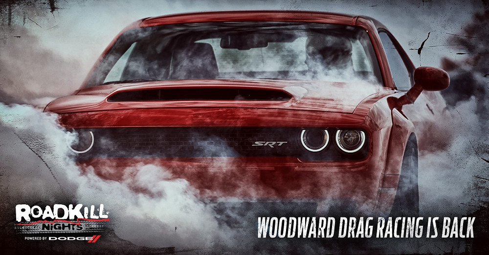 Roadkill Nights Powered by Dodge' Brings Legal Drag Racing and Thrill Rides Back to Woodward Avenue