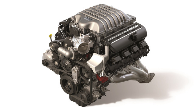 Mopar Unleashes the New 807-horsepower 'Hellcrate' Redeye Supercharged HEMI Crate Engine
