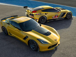 New Corvette C7R Shares Tech with New Z06