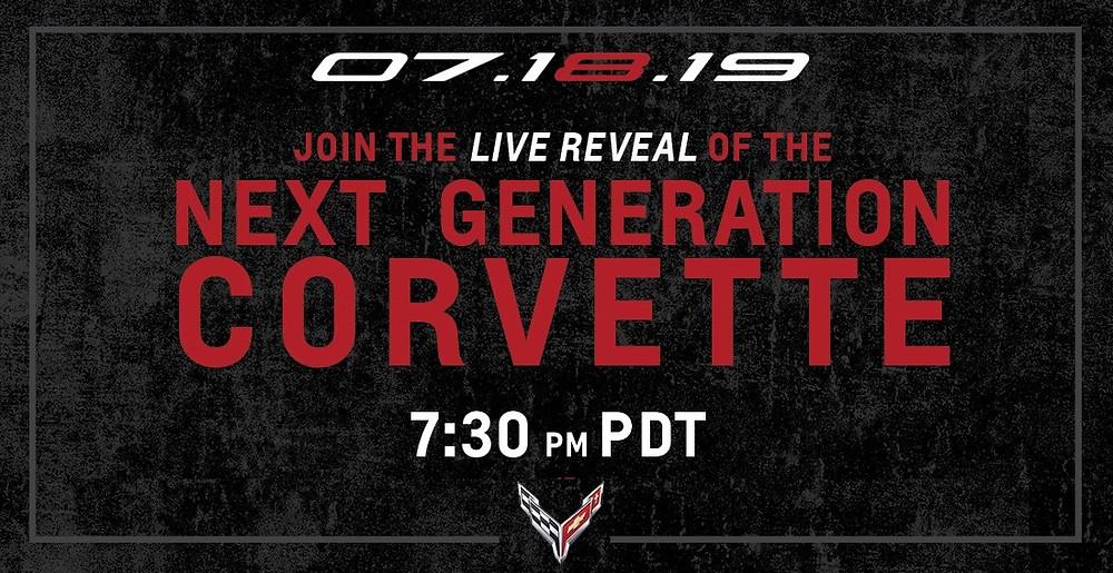 2020 Chevrolet Corvette Stingray Live Reveal
