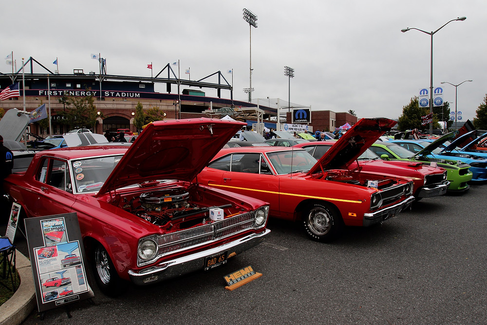 The Mopar Mega Block Party will once again kick off the Dodge NHRA Nationals on Thursday night, September 13, 2018. The event will feature a homerun derby, an all-Mopar car show, a Mopar Dodge NHRA driver autograph session, concerts, live bands and much more at FirstEnergy Stadium in Reading, Pennsylvania.