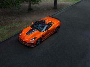 First Ever Modern-Era Corvette ZR1 Convertible Makes Debut
