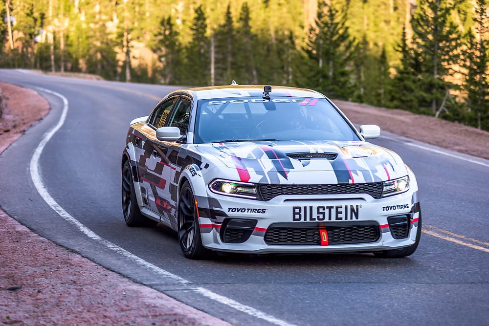 Race-prepped, one-off concept version of newly unveiled 2020 Dodge Charger SRT Hellcat Widebody is competing in the Exhibition Class of the world-renowned 97th Pikes Peak International Hill Climb in Colorado on Sunday, June 30.