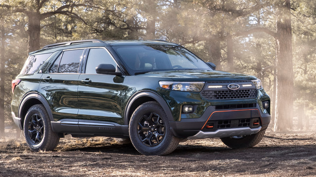The Most Off-Road-Capable Explorer Ever - Meet the New 2021 Ford Explorer Timberline