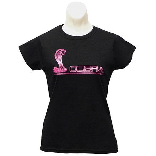 Ladies Ford Mustang Cobra T-Shirt