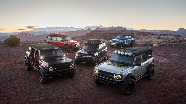 Ford Teams Up With 4x4 Companies To Expand Bronco Aftermarket Goodies